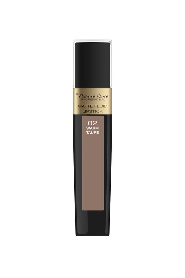 Matte Fluid Lipstick No. 02 Warm Taupe