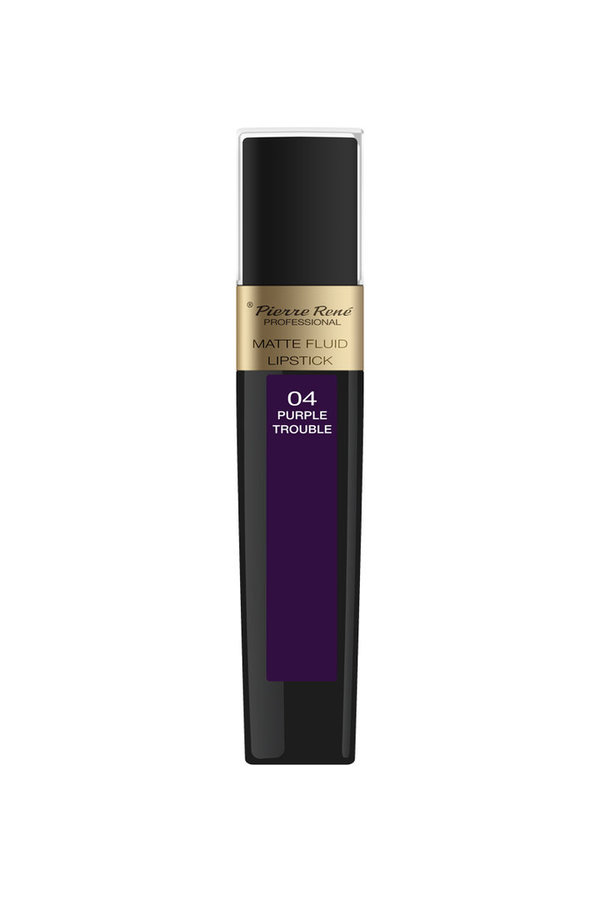 Matte Fluid Lipstick No. 04 Purple Trouble