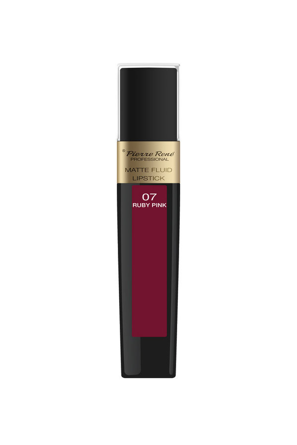 Matte Fluid Lipstick No. 07 Ruby Pink