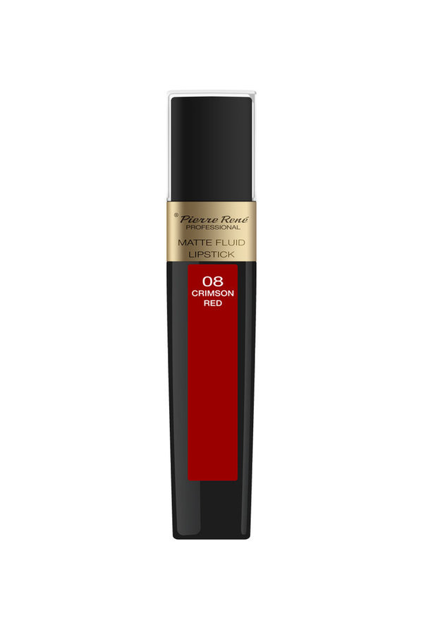 Matte Fluid Lipstick No. 08 Crimson Red