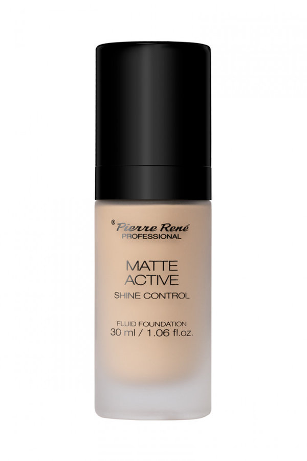 Matte Active Fluid Foundation - NEU- No. 07 Cool Ivory